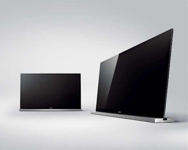 sony bravia led 3d tv 117 cm 3d transmitter en 2x 3d bril tweedehands. Black Bedroom Furniture Sets. Home Design Ideas