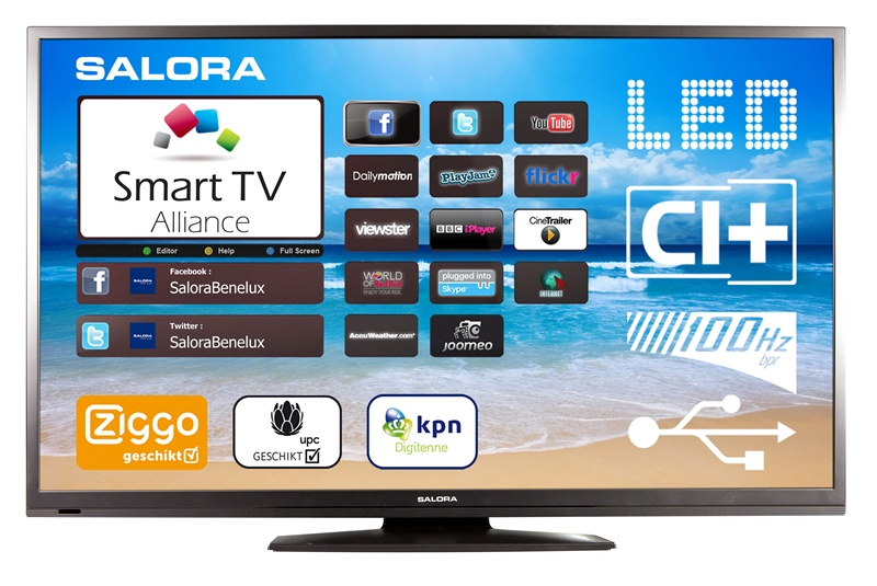 smart tv salora 50led8100cs led tv