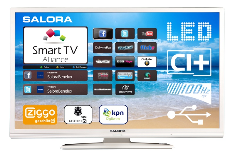 salora smart televisi 50led8110csw