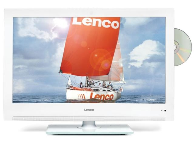 Lenco LED tv met DVD