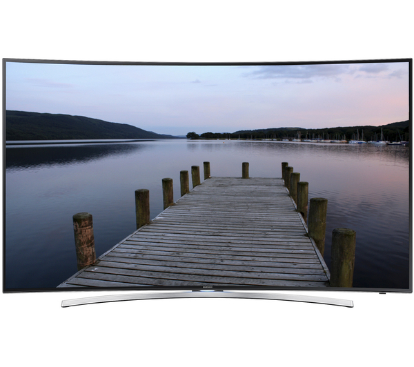 curved led televisie samsung ue65h8000