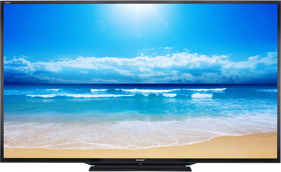 led tv sharp lc-90le757e