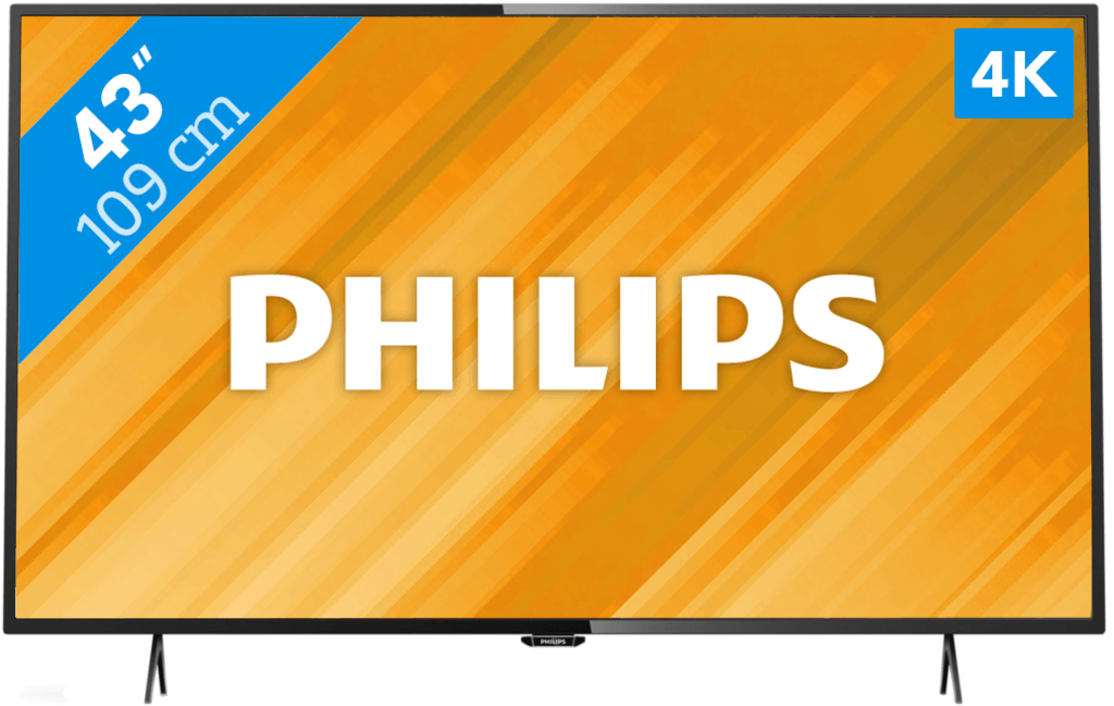 beste koop led tv philips 43pus6101