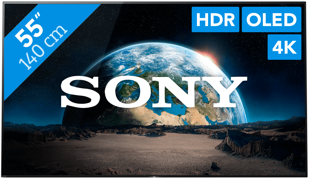 sony kd-55a1 beste koop smart tv