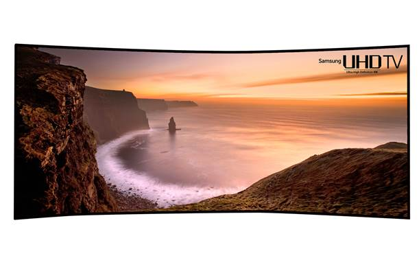 Samsung Curved (kromme) UHD LED TV