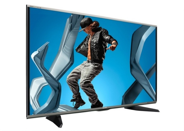 sharp 3d tv quattron