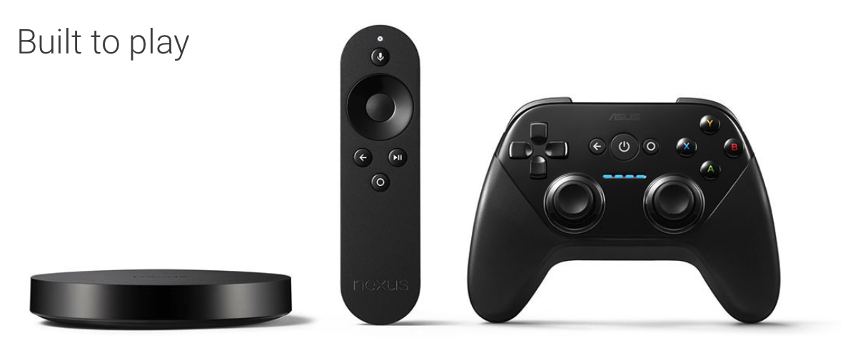Nexus Player complete set