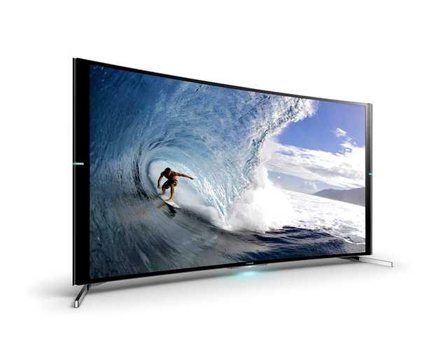 4k tv van Sony